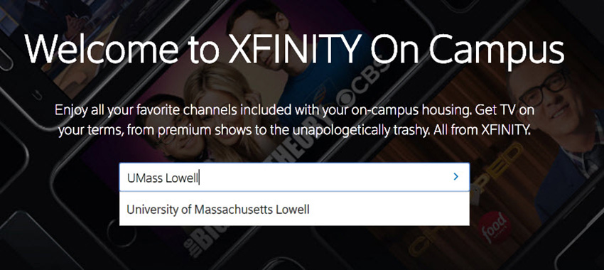 XFINITY On Campus | UMass Lowell