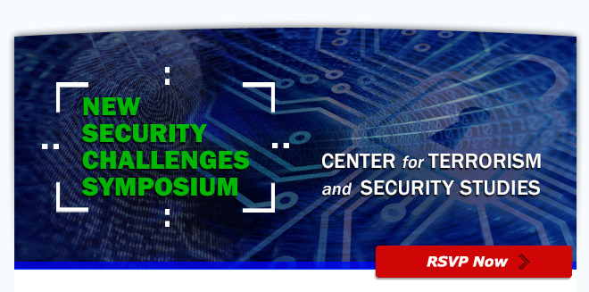 UMass Lowell Introduces Center for Terrorism and Security Studies 9/24